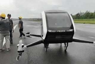 Waw Hebat, Taxi Drone Karya Start Up Bantul Yogya