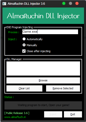 dll injector v1.1 download