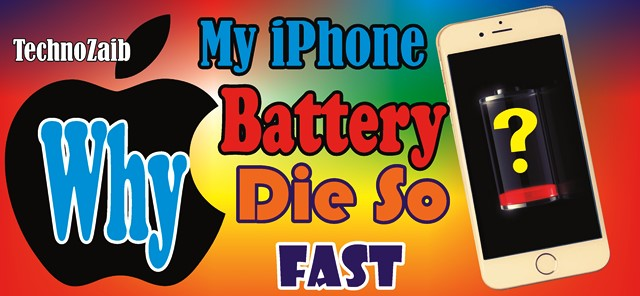 why-does-my-iphone-battery-die-so-fast