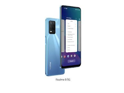 Realme 8 5G - Layar 6.5 Inch