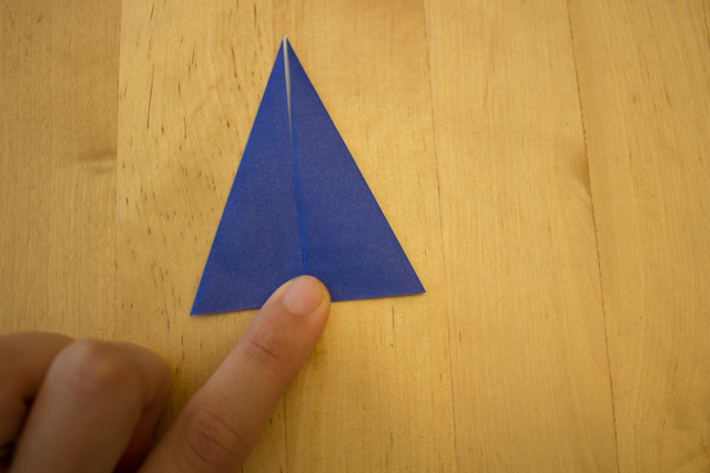 How to fold an easy origami witch with kids- best craft for Halloween