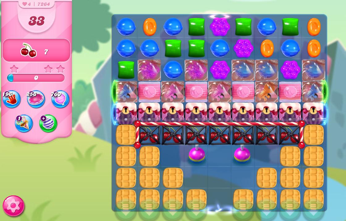 Candy Crush Saga level 7264