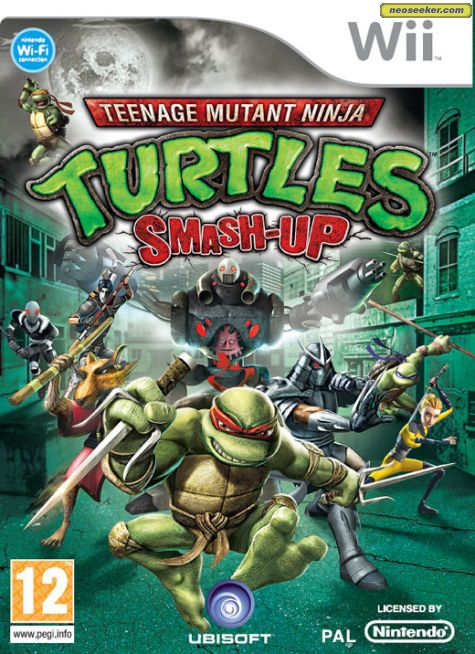 Teenage Mutant Ninja Turtles: Smash-Up [NTSC] [Multi2 Español] [WBFS