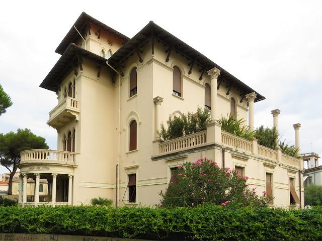 Villa, Via Nazario Sauro, Livorno