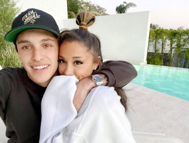 Madre y hermano de Ariana Grande aprueban su relación con Dalton Gomez