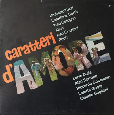 Musica serie 33 giri : Artisti Vari – Caratteri D'Amore (1981)