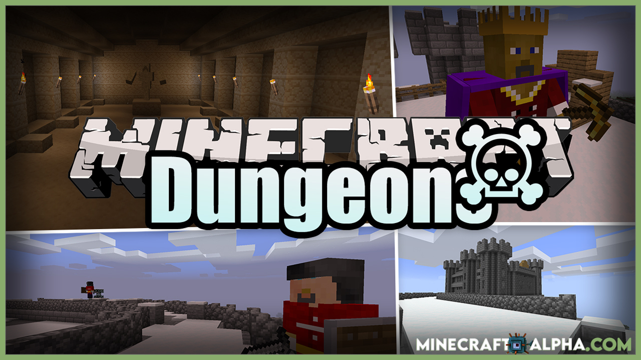 Dungeons Mod For1.17.1 And 1.16.5 (New Boss Entities & Secret Locations)