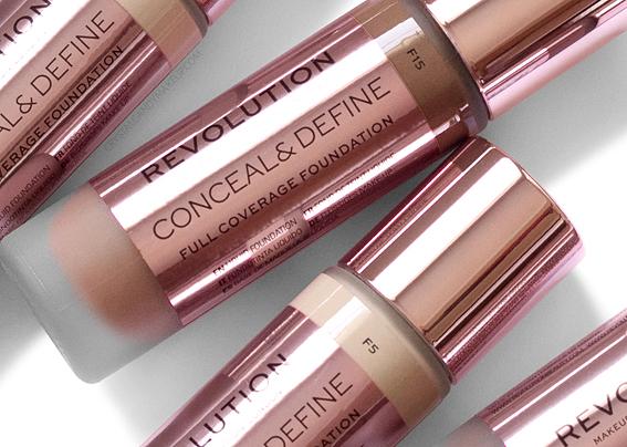 Fond Teint Liquide Conceal Define Makeup Revolution Avis Revue