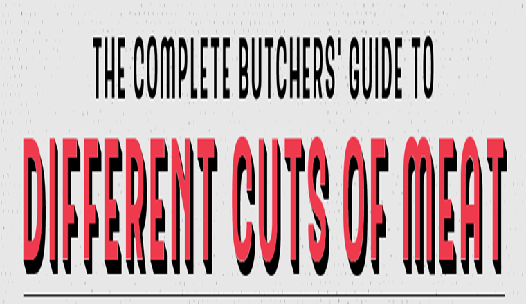 The Complete Butchers' Guide to Different Cuts of Meat #infographic