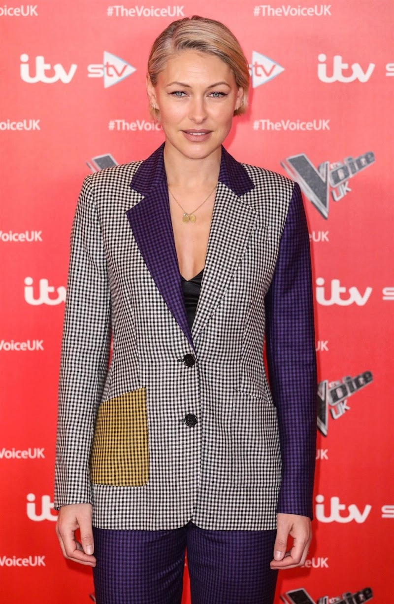 Emma Willis Clicks at The Voice Photocall in London 16 Dec-2019
