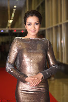 Actress Catherine Tresa in Golden Skin Tight Backless Gown at Gautam Nanda music launchi ~ Exclusive Celebrities Galleries 074.JPG