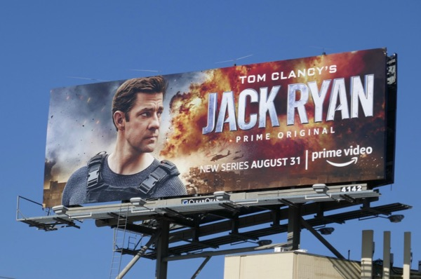 Jack Ryan Amazon TV series billboard