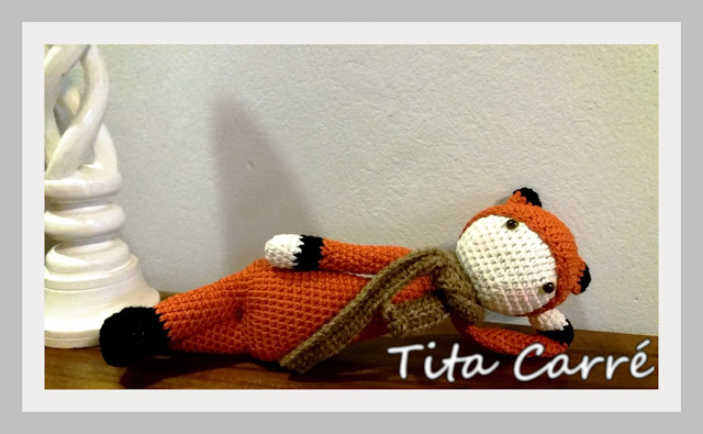Joaquim, a Raposa em crochet