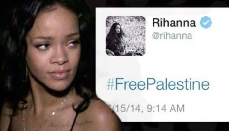 #FreePalestine by Rihanna