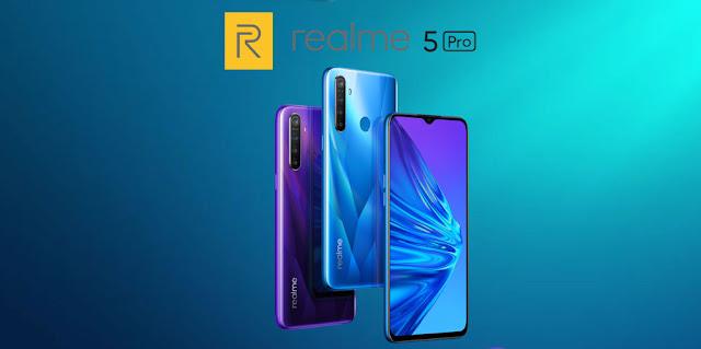 Spesifikasi Lengkap Realme 5 Pro dan Harganya