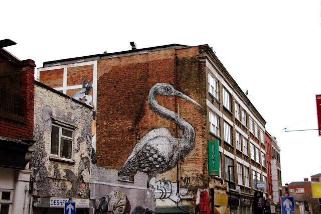 roa street art londres