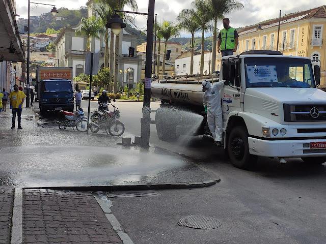 Mais de 500 quilômetros de ruas já foram percorridos com os serviços em Petrópolis