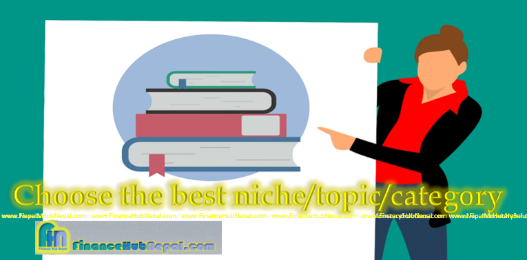 Choose the best niche/topic/category