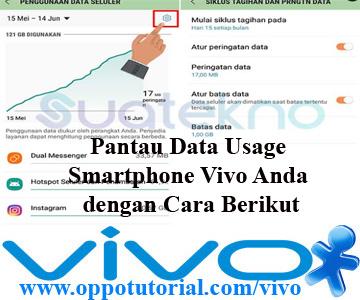 Pantau Data Usage Smartphone Vivo Anda dengan Cara Berikut