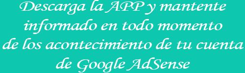 Descarga la aplicación de Google AdSense en tu Smartphone Android