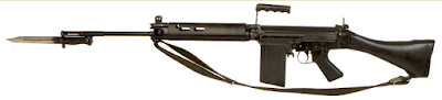 Baynet loaded 7.62mm SLR