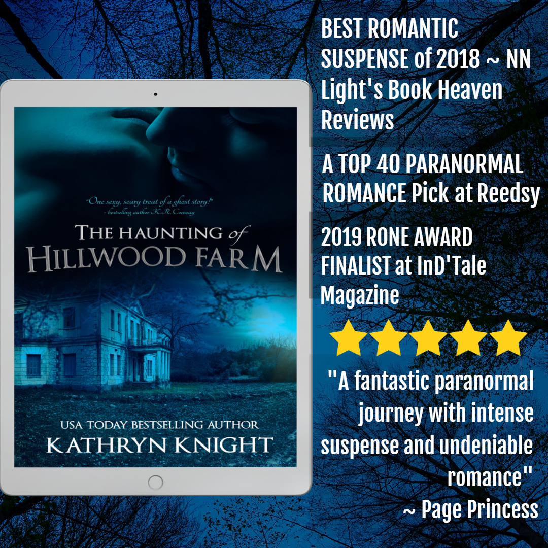Kathryn Knight books: The Haunting of Hillwood Farm #Kindle #Free