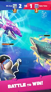 Jogue Hungry Shark Heroes e centenas de tubarões estão esperando por você!