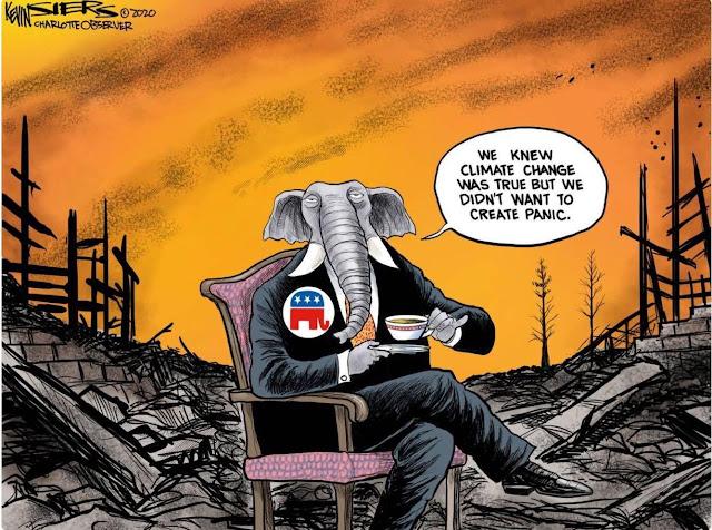 Nous savions que le changement climatique est une réalité mais nous ne voulions pas créer de panique.