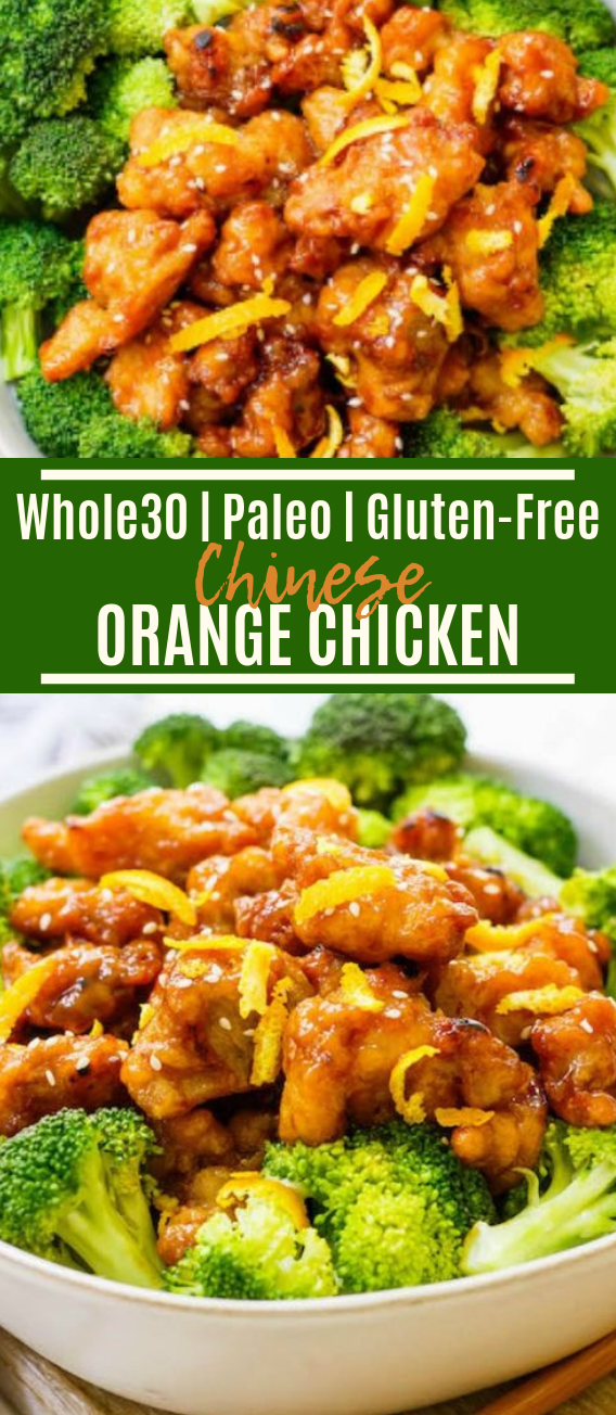 Easy Chinese Orange Chicken #lowcarb #paleo