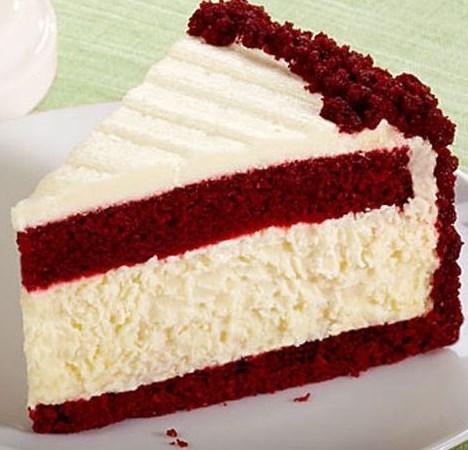 Red Velvet Cheesecake #desserts #cake