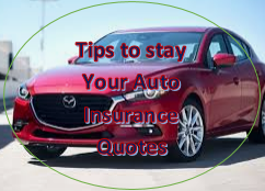 Tips to stay Your Auto Insurance Quotes