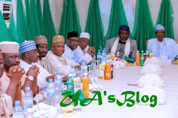 Leadership Crisis: Buhari Meets APC Governors….Okays APC NEC Postponement