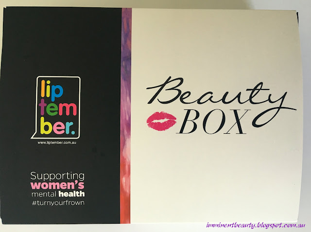 Liptember 2016 Beauty Box Overview