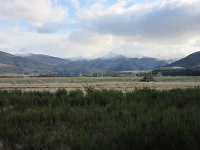 Paisaje entre Te Anau y Queenstown, Nueva Zelanda