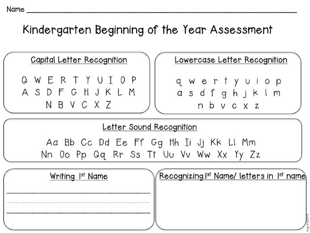 free alphabet writing assessment