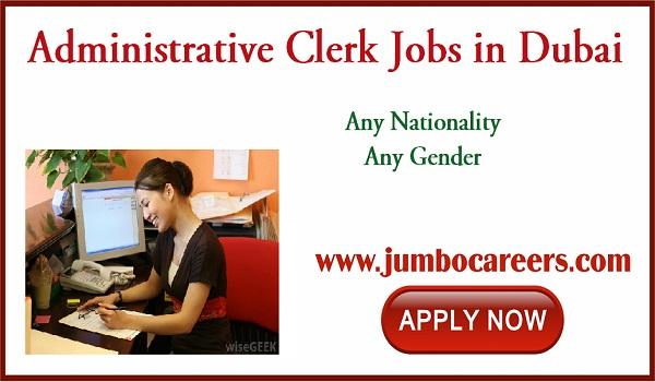 Admin jobs in Dubai, latest office jobs in Dubai,