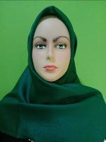 Jual Kerudung Shinar Glamour Sonic Green Bottel di Tasikmalaya
