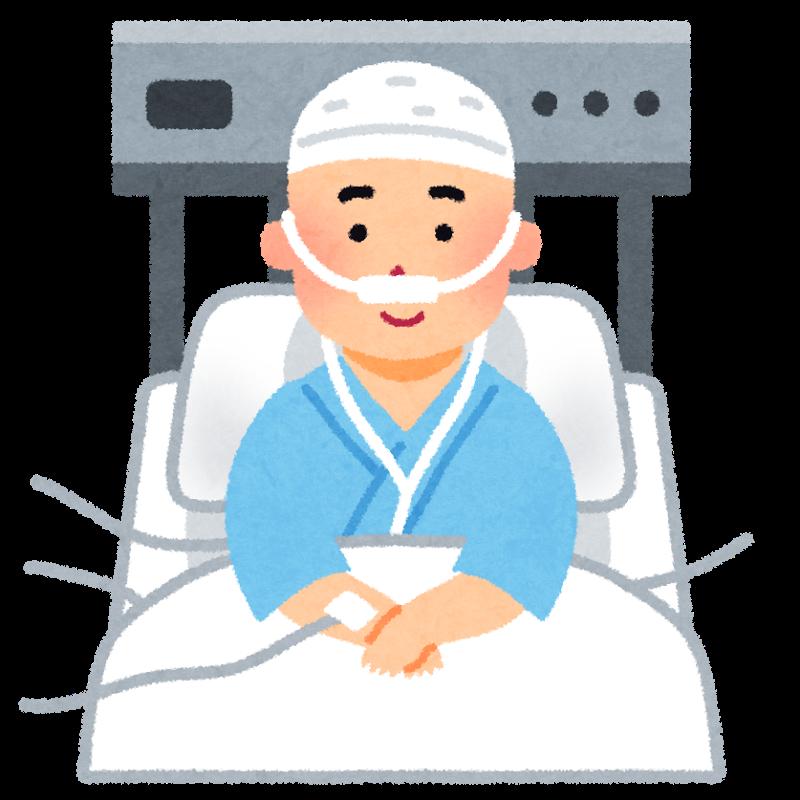 図:再発と再入院