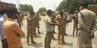 #JaunpurLive : धनदेई फिलिंग स्टेशन लूट कांड में आरोपियों के ऊपर लगा गैंगस्टर