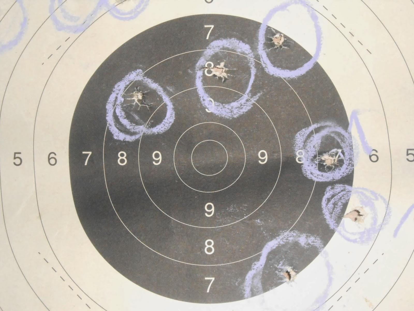 tir sur cible poudre noire calibre 44