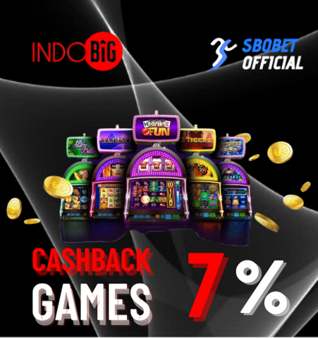 Cashback Games Agen SBOBET Online Terpercaya
