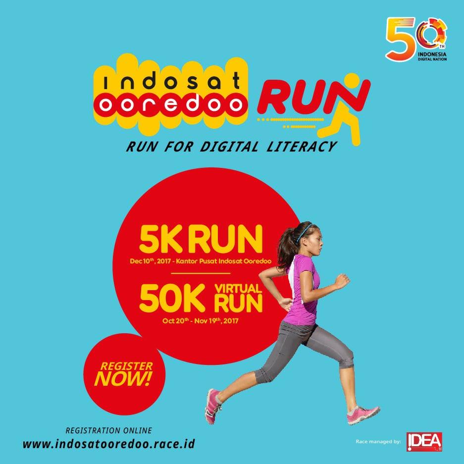 Indosat Ooredoo Run • 2017