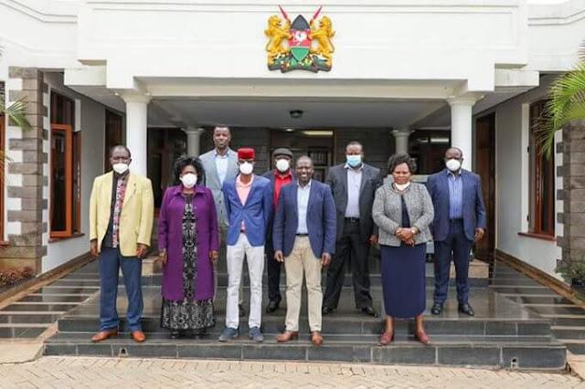 Deputy President William Ruto met Western region leaders to galvanise western votes
