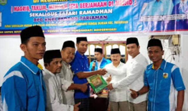 Program Mata Emas KNPI Padang Pariaman Disambut Antusias