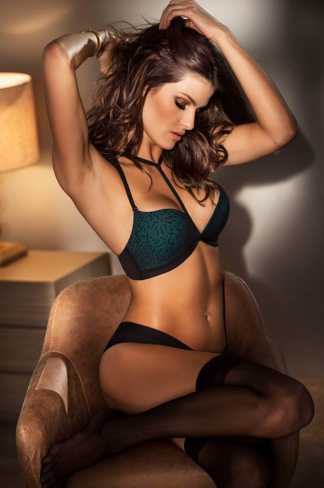 Leonisa Lingerie 'Seduction' Collection 2015 featuring Isabeli Fontana