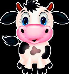 render vaca clipart