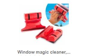 Limpiador mágico de ventanas