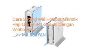 Mikrotik Hap Lite Rb941-2nd-Tc
