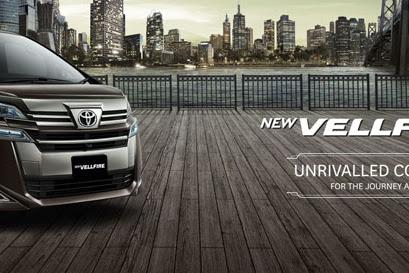 Tampilan Terbaru Toyota Vellfire dan Toyota Alphard All New Varian
