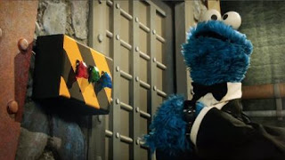 Cookie Monster, Cookie's Crumby Pictures The Spy Who Loved Cookies, Sesame Street Episode 4403 The Flower Show season 44